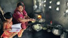 "Improved Cook Stoves are improving health and quality of life especially for women and children by drastically reducing air pollution and costs. ""My firewood usage has gone down so much. I used to buy firewood once in every two months, now I buy fuelwood once every five months. This has helped us save money."" -Ms. Shefali Ghosh from Savar Village on the outskirts of Dhaka"