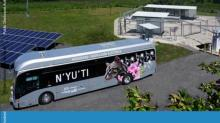 Bus depot, hydrogen, green energy