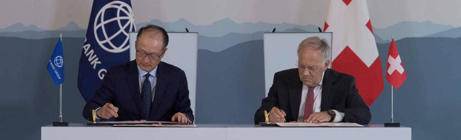 World Bank and Switzerland Sign New ESMAP Agreement