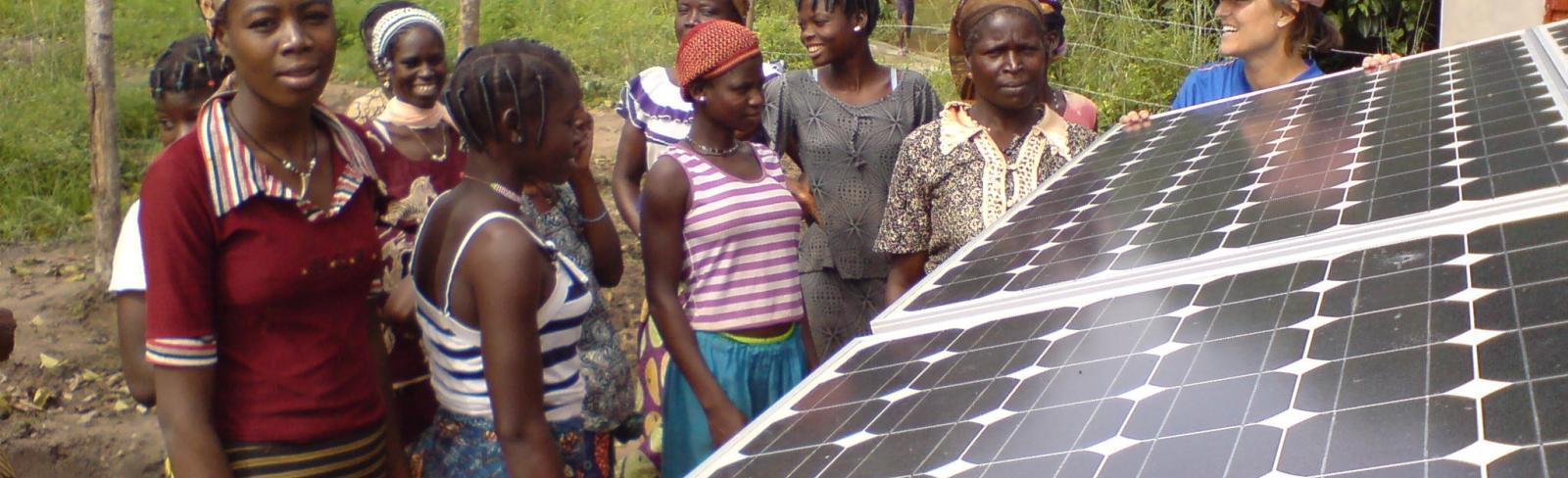 Large-scale Solar Energy Gets a Boost in West Africa