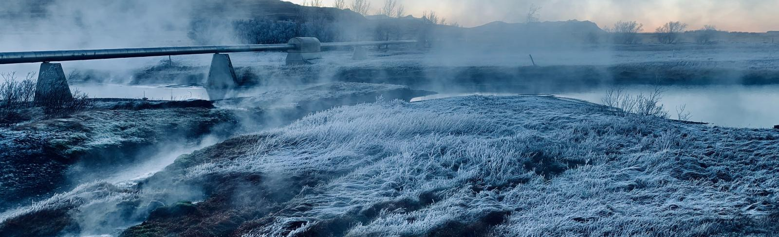 Geothermal Baths, Iceland. Photo by Joey Clover.