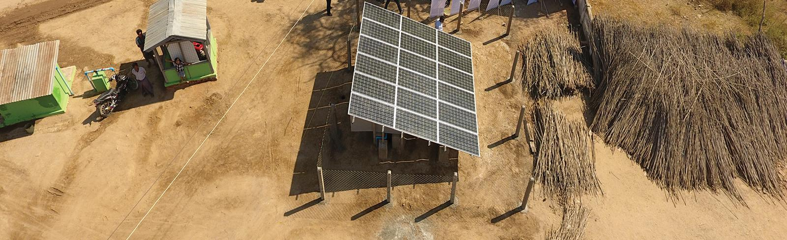 Mini grids in rural Myanmar