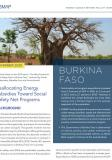Burkina Faso Country Brief