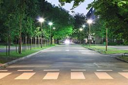 Street lighting landscape