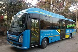 electric bus in Kolkata, India