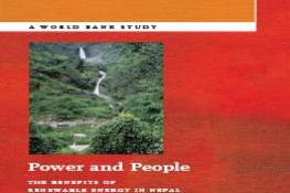Power and People - Benefits of Renewable Energy in Nepal