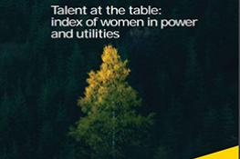 Talent at the Table | Index of Women in Power and Utilities
