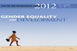 WDR 2012 | Gender Equality and Development