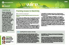 Tracking Access to Electricity