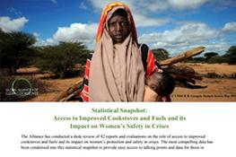 Statistical Snapshot: Access to Improved Cookstoves and Fuels and its Impact on Women's Safety in Crises