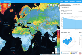 Global Wind Atlas Satellite Screenshot