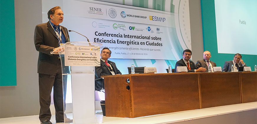 International Conference on Energy Efficiency in Cities, Puebla Mexico 2016